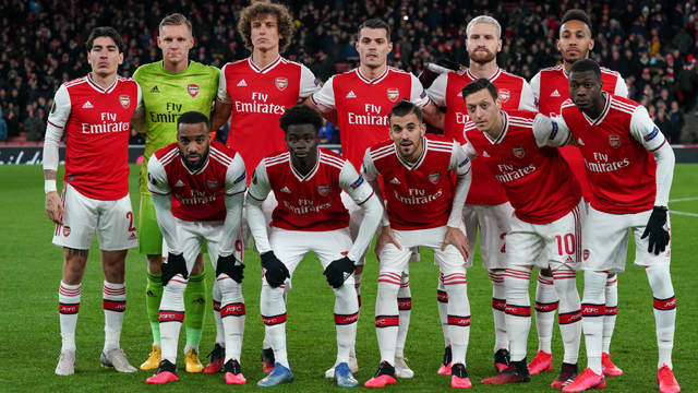 Arsenal Squard