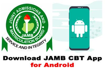 Download 2021 JAMB CBT Practice Mobile App - Free Download
