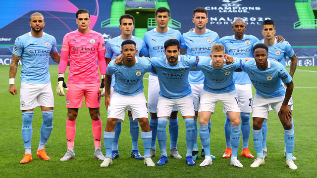 Manchester City Sqaud