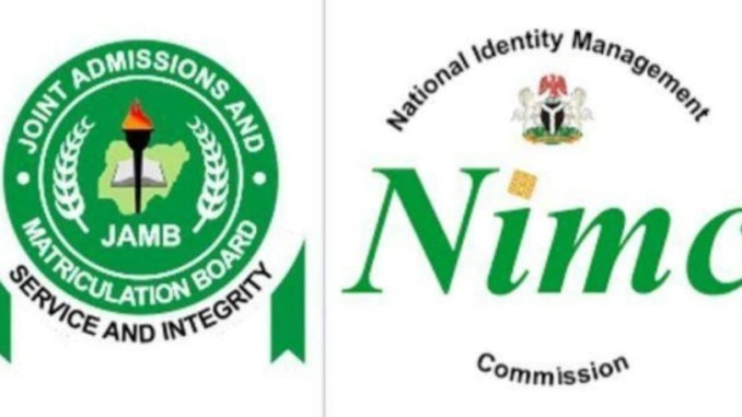 NIN is compulsory for JAMB UTME registration, FG confirms