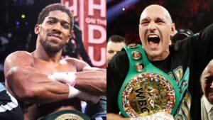 Tyson Fury Boasted, I Will Smash Anthony Joshua