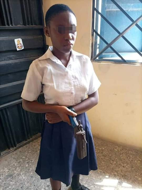 Secondary School Student Went To School With Gun To Shot A Teacher Who Asked Her To Cut Her Coloured Hair